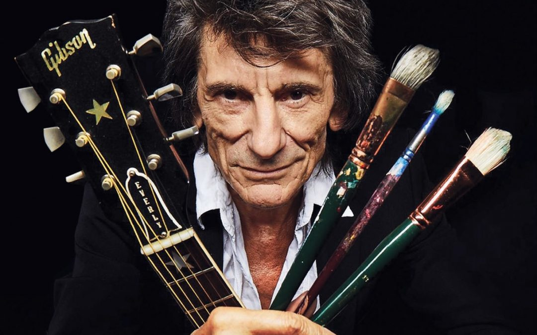 Wir freuen uns als  Kooperationspartner von Polyfilm & Filmcasino auf den neuen Ronnie WOOD Film SOMEBODY UP THERE LIKES ME! Filmstart 9.7.2020 Be there – it's more than ROCK'N ROLL!